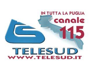 Telesud è presente in tutta la puglia sul canale 115 del digitale terrestre. www.telesud.it