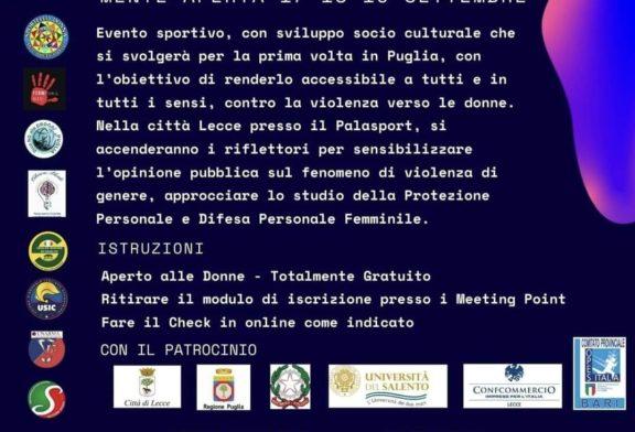Meeting Difesa Donna al Palasport di Lecce dal 17 al 19 Settembre