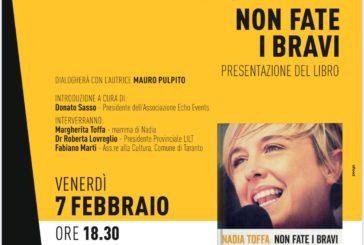 """La mamma di Nadia Toffa a Bari per presentare il libro """"Non fate i bravi"""""""