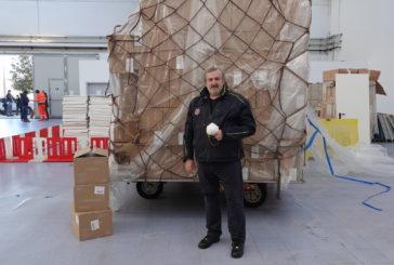 Arrivato a Bari dalla Cina il 1° carico di DPI acquistati dalla Regione Puglia