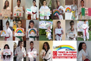 """Il Csd """"Taekwondo Massafra"""" in primo piano in un torneo regionale online"""
