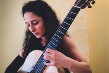 Eleonora Perretta, vincitrice del Festival Internazionale della Chitarra - Città di Mottola