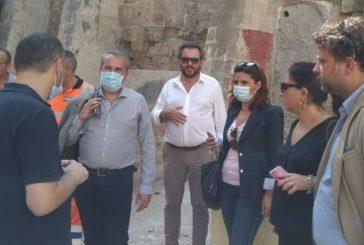 Taranto: interventi di pulizia e riassetto in Largo Santi Medici