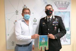 Massafra: Visita di saluto del Comandante Compagnia CC. Cap. Leone