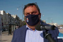 Taranto : Presentazione del nuovo ecocompattatore fotovoltaico di Kyma Ambiente in città vecchia