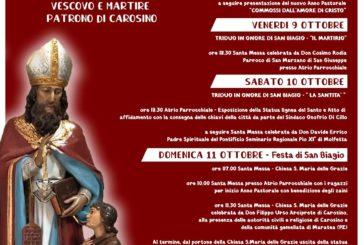 San Biagio festa patronale a Carosino