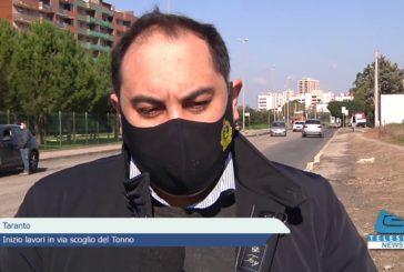 Taranto: inizio lavori in via scoglio del Tonno
