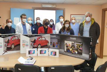 Donati 12 tv e 3 tablet al reparto di Cardiologia-Covid ed 1 tablet al reparto di Medicina-Covid di Castellaneta