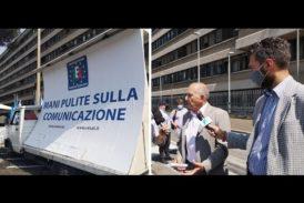 Ieri 10 giugno a Roma manifestazione delle emittenti locali italiane per la difesa del pluralismo informativo e la massima occupazione nel settore