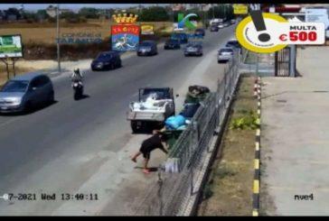 Taranto nuove videotrappole, 43 sanzioni in 36 ore